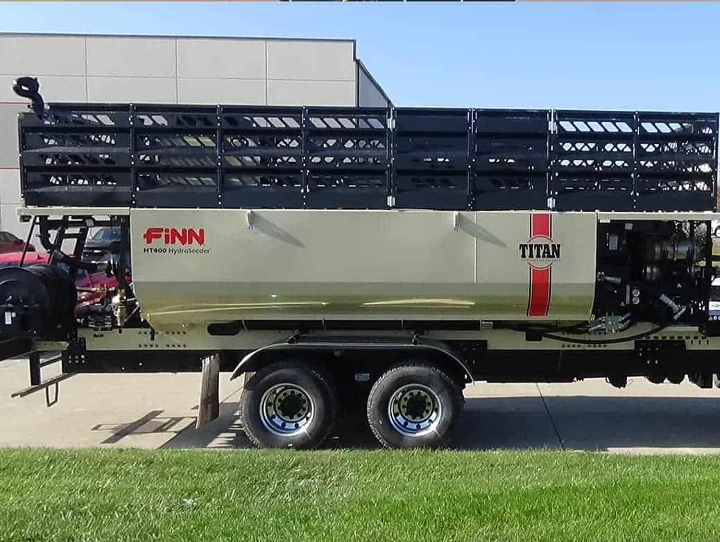 Titan HT330/400 HydroSeeder